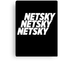 3 Netsky shirt Canvas Print