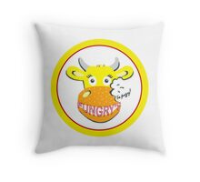 I'm Fungry! Throw Pillow