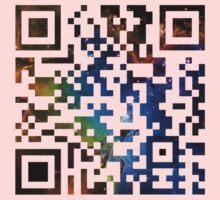 QR Code Galaxy Eagle Kids Tee
