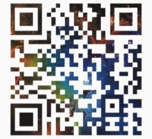 QR Code Galaxy Eagle by rapplatt