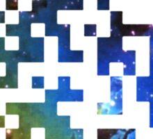 QR Code Galaxy Eagle Sticker