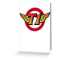 SKT T1 Greeting Card
