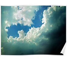 FAIRY-TALE CLOUDS Poster