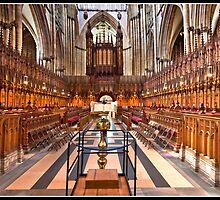 York Minster an altar view by Shaun Whiteman