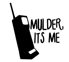 Mulder, It's Me by lancheney007