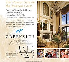 ad for creekside by muse ical