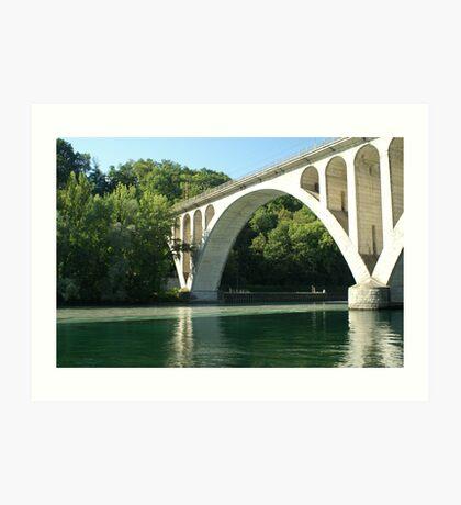 Jonction bridge Art Print