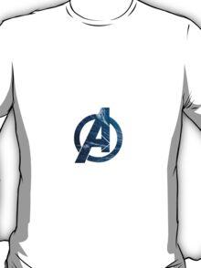 Avengers logo ~ ocean waves T-Shirt