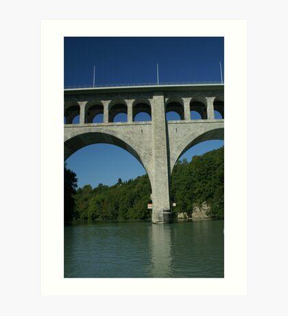 Butin bridge Art Print