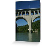Butin bridge Greeting Card