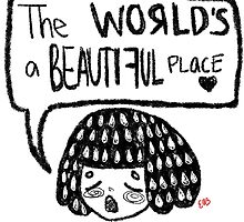 the world's a beautiful place by ellie hoang