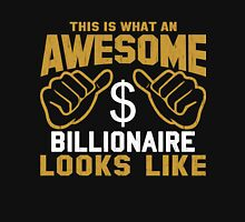 This is What an Awesome Billionaire Looks Like Retro Unisex T-Shirt