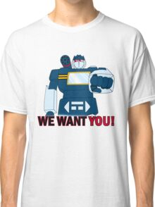 Transformers - We Want You - Decepticons Classic T-Shirt