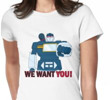 Transformers - We Want You - Decepticons Womens Fitted T-Shirt