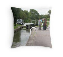 Foxton Locks, Leicestershire (5126) Throw Pillow