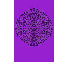 Paradise (purple background) Photographic Print
