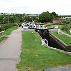 Foxton Locks, Leicestershire (5131) by Tony Payne