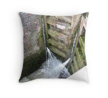 Foxton Locks, Leicestershire (5132) Throw Pillow