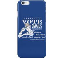 Vote Smails iPhone Case/Skin