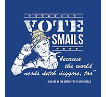 Vote Smails Photographic Print