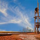 The Country Railroad Crossing by Buckwhite