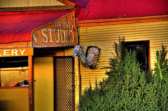 Art Studio Silverton NSW by John Miner