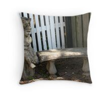 A nook and wee cranny Throw Pillow
