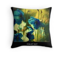 Forget Not Throw Pillow