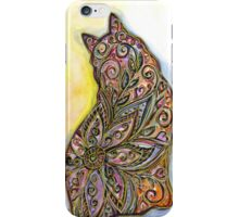 Flower Meow iPhone Case/Skin
