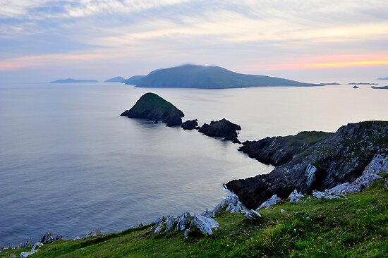 Blasket Islands by Michael Walsh
