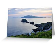 Blasket Islands Greeting Card