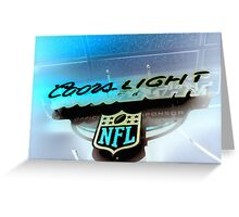 Neon Lights - Negative Greeting Card