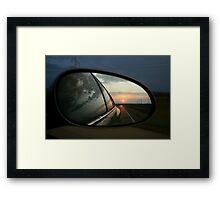 Evening Sun Framed Print