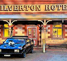 Mad Max's Car at Silverton Hotel  by John Miner