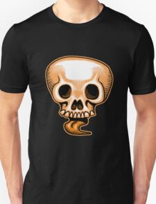 Halloween Skull Tongue T-Shirt