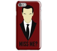 Did you miss Moriarty? iPhone Case/Skin