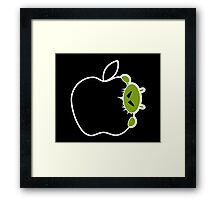 Android Bite Apple Framed Print