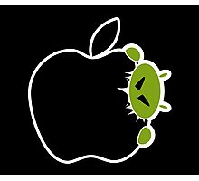 Android Bite Apple Photographic Print