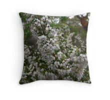 Flowering Shrub Throw Pillow