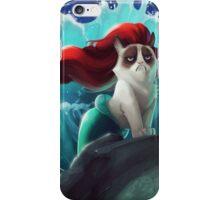 Little Mermaid Cat iPhone Case/Skin