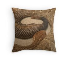 Rattle Throw Pillow