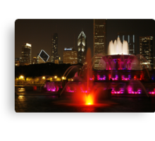 Come to Chicago Canvas Print