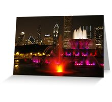 Come to Chicago Greeting Card