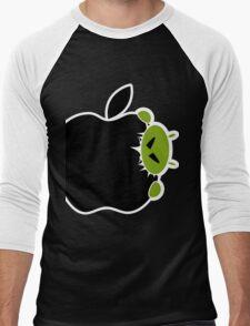 Android Bite Apple Men's Baseball ¾ T-Shirt