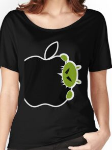Android Bite Apple Women's Relaxed Fit T-Shirt