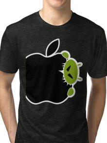 Android Bite Apple Tri-blend T-Shirt