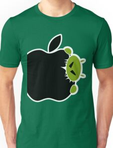 Android Bite Apple Unisex T-Shirt