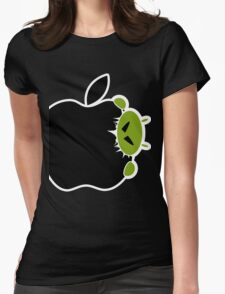 Android Bite Apple Womens Fitted T-Shirt