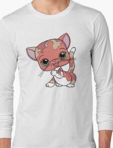 Littlest Pet Shop Cat Long Sleeve T-Shirt