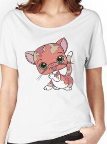 Littlest Pet Shop Cat Women's Relaxed Fit T-Shirt